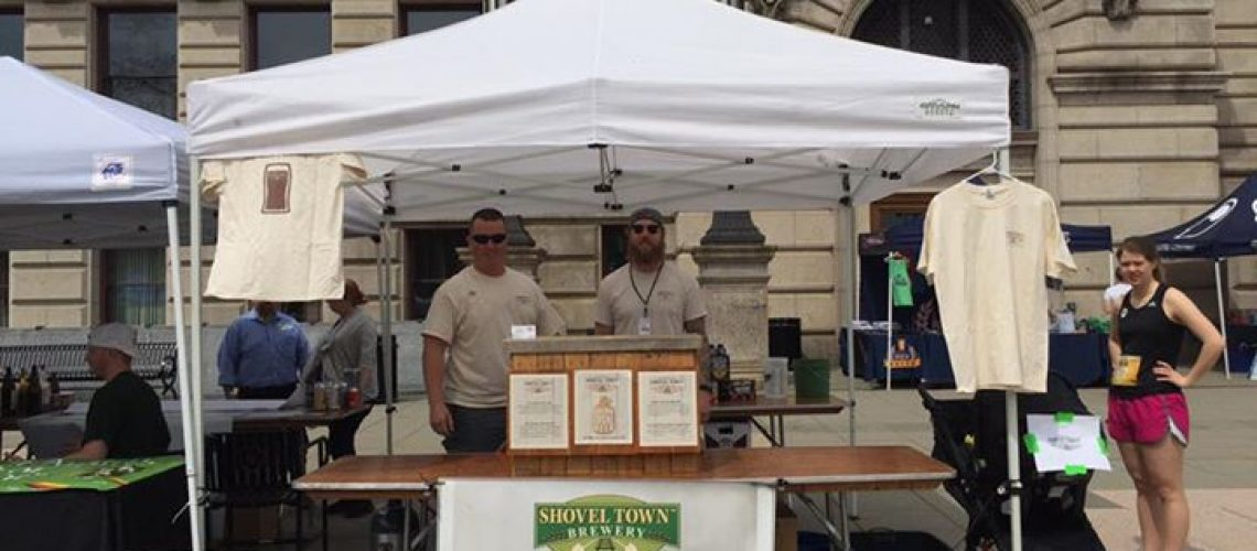 Check out our Fantastic Double IPA, Shovel Shop! At the Worcester Craft Beer Race…