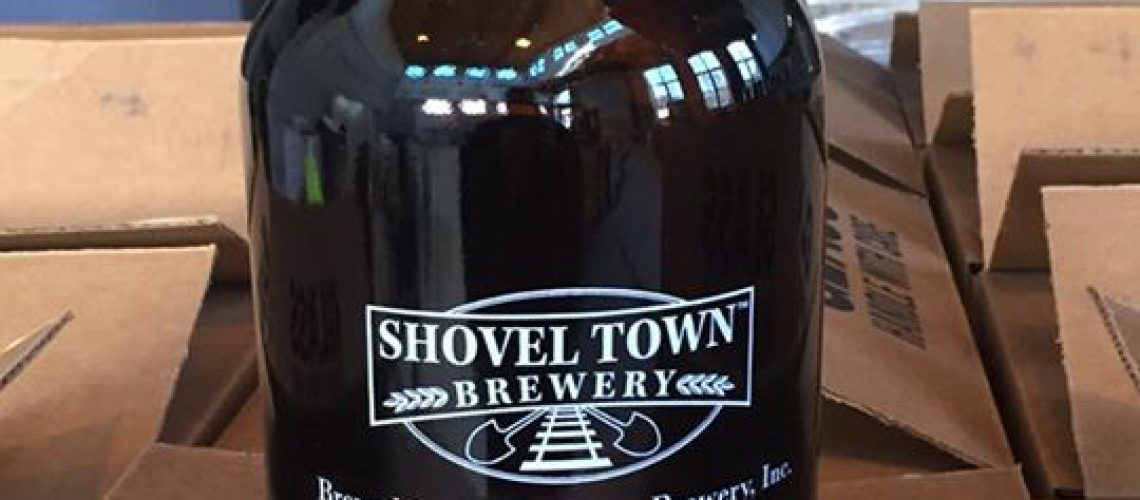 Glassware is in! Getting close now #local #craftbeer. @shoveltownbeer